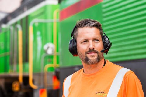 Green Cargo bangård