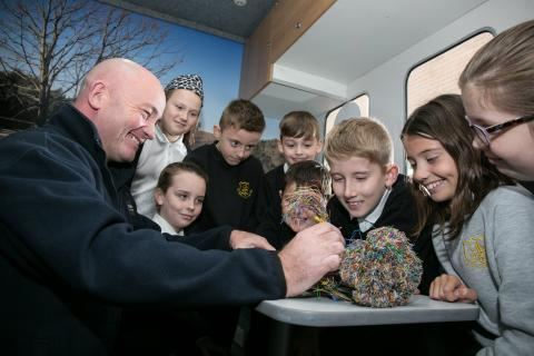 ​West Lothian pupils get a lesson with fibre broadband