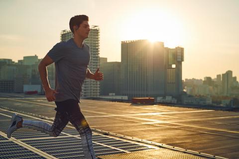 Urban running 1