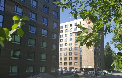 Månedens bygg mai 2018: SiO - Nye Kringsjå studentboliger