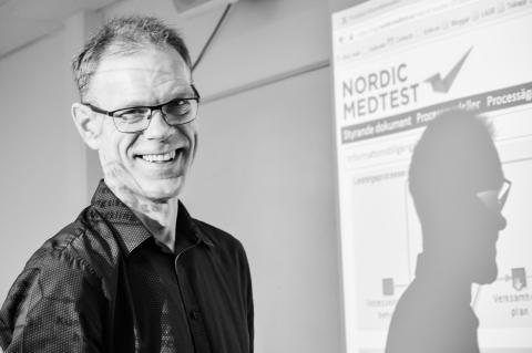 ISO-9001 certifiering klar för Nordic Medtest