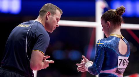 Sebastian Melander återvänder till Sverige och landslagsverksamheten inom kvinnlig artistisk gymnastik