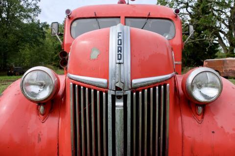 Stor samling brandbilar säljs på auktion