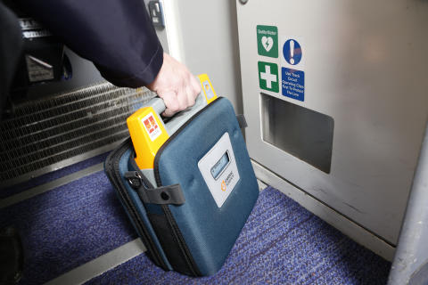 Virgin Trains installs defibrillators on its Pendolino fleet