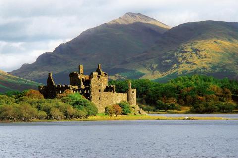 Argyll Kilchurn Castle