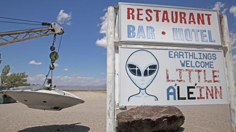 Extraterrestrial Highway Little A'LE'INN