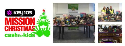 Thanks to everyone who has donated for the Key 103 Mission Christmas campaign!