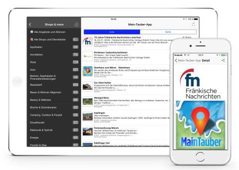 Main-Tauber-App: Immer und überall die Heimat im Blick
