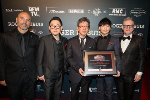 Mazdas designteam på Festival Automobile International 2018