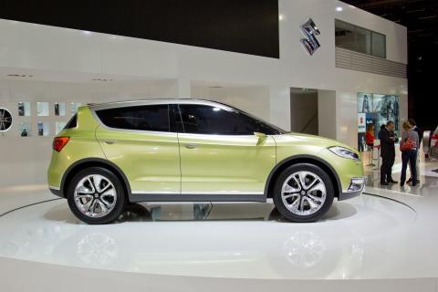 Suzuki S-Cross i Paris