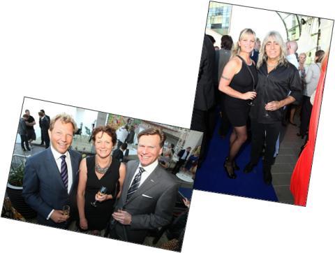 Storslagen fest i de nya idéernas tecken när Radisson Blu Riverside Hotel invigdes med fantastiska artister och många gäster