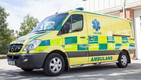 Ambulansen i Trelleborg stannar kvar på nuvarande adress