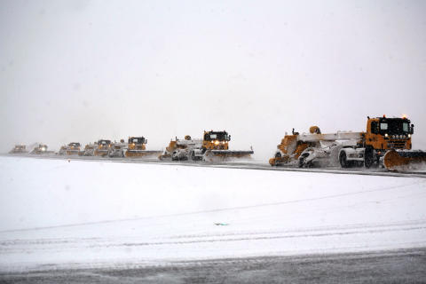 Winter operations at Oslo Airport