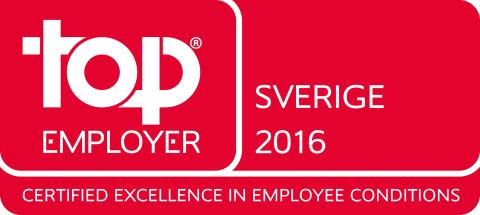 Top Employer 2016