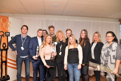 Lindorff tog hem segern i SM i Telefoni 2015 i kategorin Bank & Finans