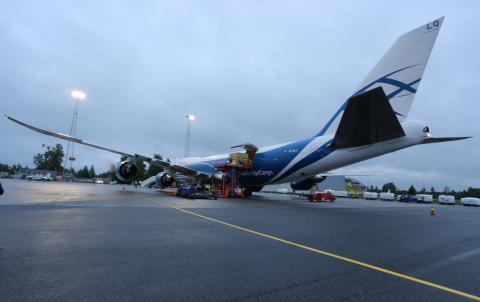 AirBridge Cargo på Oslo lufthavn