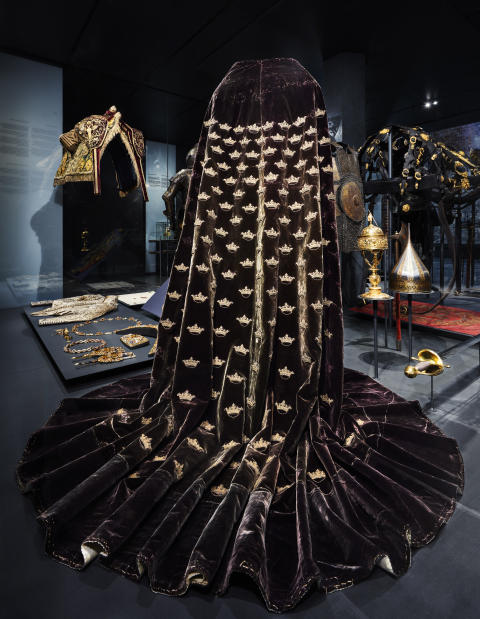 Erik XIV:s kröningsmantel