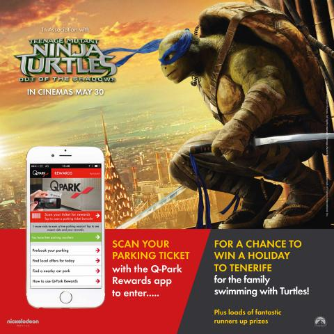 ​Win a Cowabunga holiday with Teenage Mutant Ninja Turtles 2!