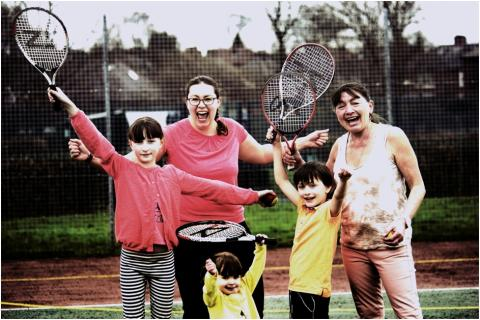 Play out this summer with free tennis in Ramsbottom and Prestwich