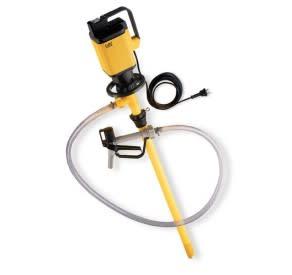 Elektrisk fatpump - perfekt för uppfordring av tunnflytande syror och alkalier