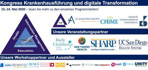 13.-14.05.2020: Kongress zu Krankenhausführung und digitale Transformation