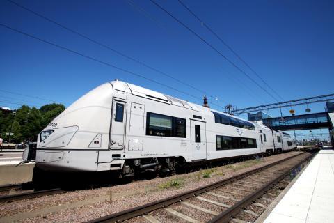 SJs regionaltåg i Västerås