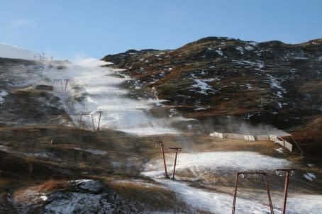 Det snør i Hemsedal!