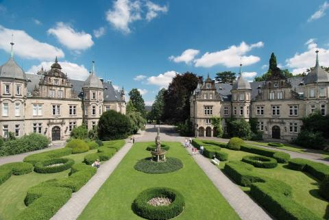 Bückeburg slott, barokk hage
