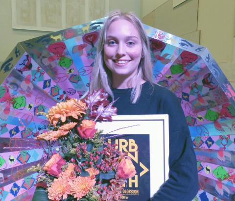 Beatrice Olofsson tilldelas URBAN NORTH-stipendiet