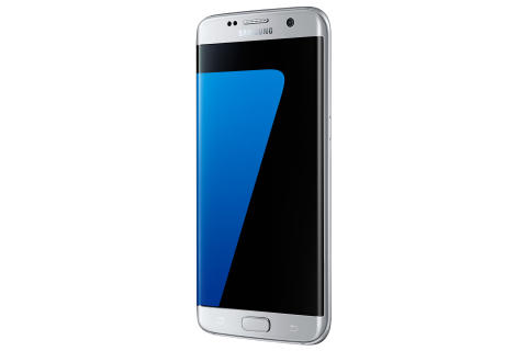 Eksklusivt hos 3: Samsung Galaxy S7 edge Silver