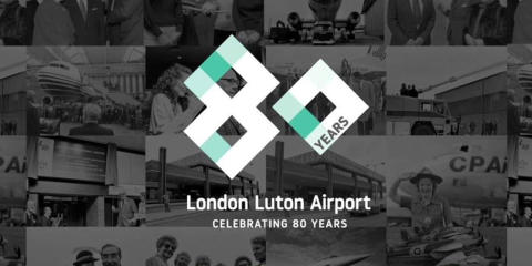 London Luton Airport celebrates busiest ever June as it prepares for 80th birthday