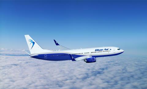 Blue Air starter direkteflygning til Bucureşti
