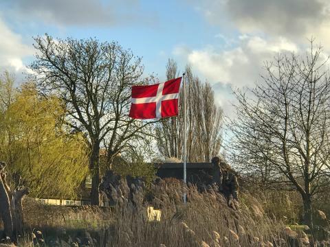 I dag hejser vi flaget.