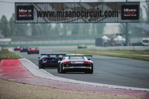 Premiär i ADAC GT Masters på Oschersleben
