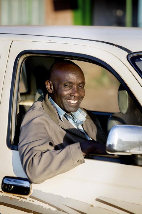 Vänlighet i trafiken, Daniel i Kenya