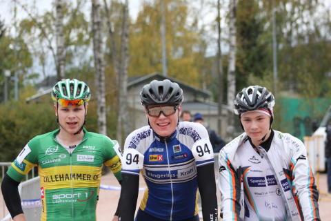 NC CX 2 M Junior Vinner trio Wærenskjold