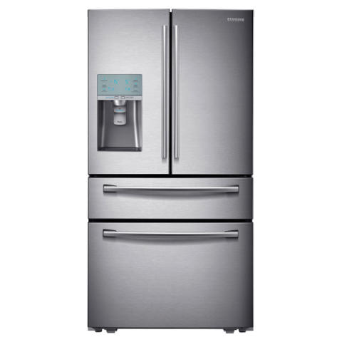 Samsungs kjøleskap med kullsyrevann er nå i butikk