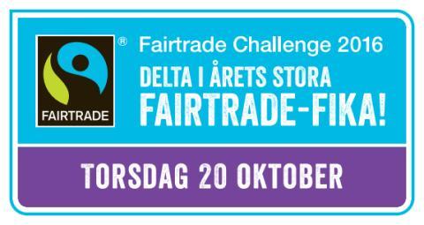 Pressinbjudan - Gymnasieskolan Knut Hahn deltar i Fairtrade Challenge