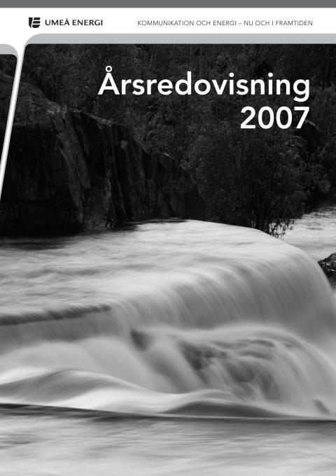 Årsredovisning 2007
