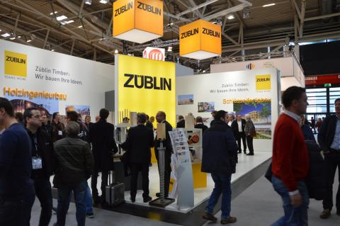 ZÜBLIN Timber presents itself successfully at BAU 2017 in Munich