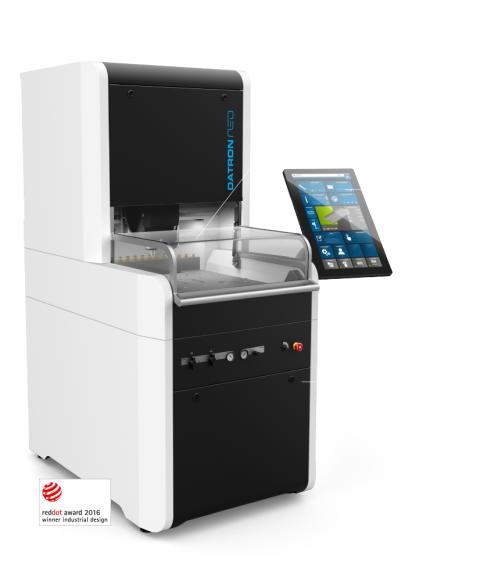 Nu är den äntligen här - DATRON neo fräsmaskinen som enkelt och snabbt ger fler företag och  användare en enkel tillgång till höghastighetsfräsning (high-speed milling).