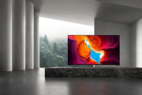 Sony lanserar nya 8K och 4K Full Array LED-TV med avancerad bildkvalitet och ljudfunktioner