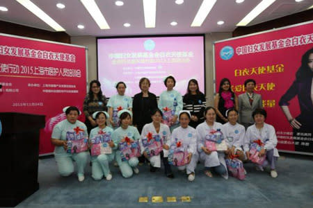Kimberly-Clark China's Touch of White Angels Campaign Brings Healthcare Professionals Essentials for a Better Life