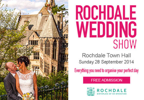 Win a wedding package with town hall Wedding Show