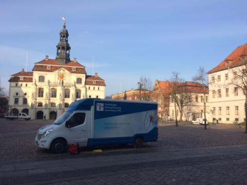Beratungsmobil der Unabhängigen Patientenberatung kommt am 18. Oktober nach Lüneburg.