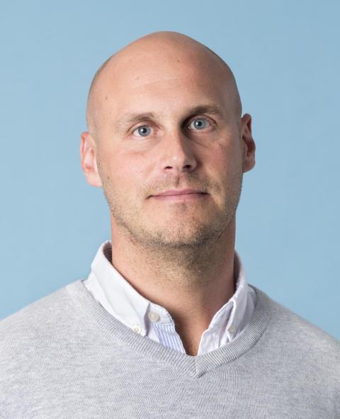 Henrik Hedenström områdeschef
