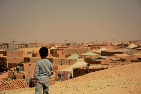 Västsahariska flyktinglägret Smara