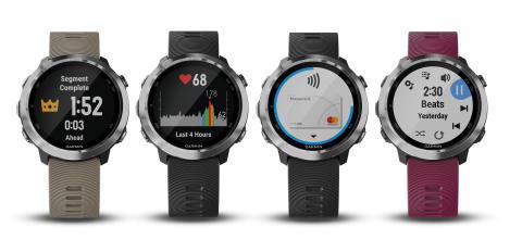 Garmin® presenterar Forerunner 645 Music - en löparklocka med GPS, integrerad musik och Garmin Pay