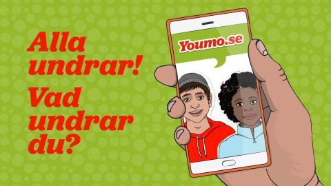 Youmo.se – om hälsa och jämställdhet för unga nyanlända på flera språk