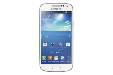 Galaxy S4 mini (hvit front)